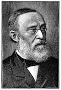 Rudolf Posters - Rudolf Virchow, German Pathologist Poster by