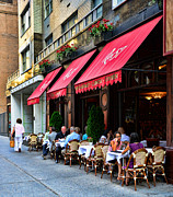 Brasserie Framed Prints - Rue 57 NYC Framed Print by Paul Ward