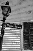 Clapboard House Framed Prints - Rue Bourbon Framed Print by Kathy Hunt