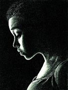 Rue Drawings - Rue by Crystal Rosene