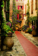 Provence Digital Art Originals - Rue Phillippe by John Galbo