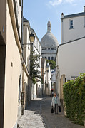 Sacre Coeur Art - Rue Saint Rustique by Fabrizio Ruggeri