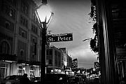Street Sign Prints - Rue St. Pierre Print by Scott Pellegrin