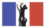 Rugby France Print by Aloysius Patrimonio