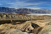 Scenic Drive Framed Prints - Rugged landscape of Death Valley Framed Print by Pierre Leclerc