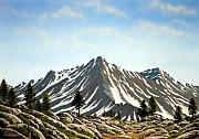 Pacific Crest Trail Paintings - Rugged Peaks by Frank Wilson