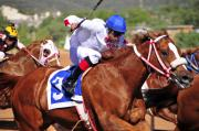 Jockey Art - Ruidoso by Skip Hunt