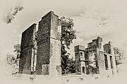 Colonist Prints - Ruins at Jamestown Print by Bill Cannon