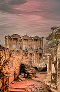 Decour Framed Prints - Ruins of Ephesus Framed Print by Tom Prendergast