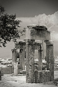 Byzantine Framed Prints - Ruins of Hierapolis Framed Print by Waldek Dabrowski