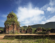 Hindi Metal Prints - Ruins of Hindu Temples Metal Print by Skip Nall