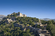 Ancient Ruins Prints - Ruins of Nimrod Fortress Print by Noam Armonn