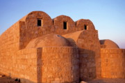 Stonewall Prints - Ruins of Qasr Amra in Jordan Print by Sami Sarkis