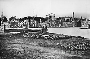 Richmond Virginia Prints - Ruins Of Richmond Print by Photo Researchers