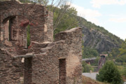 Virginia Ruins Photos - Ruins of St. Johns Church in Harpers Ferry by William Kuta