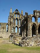 Masonary Art - Ruins of Whitby Abbey by Susan Baker