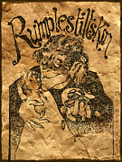 Caricature Drawings - Rumplestiltskin by Tim  Heimdal