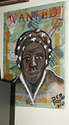 Harriet Tubman Paintings - run away Tubman by Doreen Mathis Hopkins