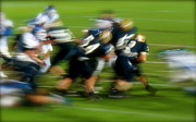 High School Sports Prints - Run It Run It Print by Terry Zeyen