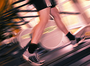 Leisure Activity Posters - Running Machine Poster by Mark Sykes