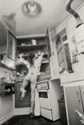 Running Through The Kitchen Print by Philippe Taka