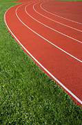 Training Prints - Running Track Print by Artur Bogacki