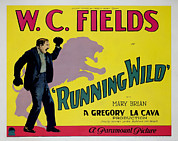 Lion Poster Prints - Running Wild, W.c. Fields,  1927 Print by Everett
