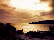 John Adams Photo Prints - Runswick bay Print by John Adams