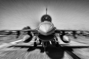 Lockheed Photo Metal Prints - Runway Speed Metal Print by Douglas Barnard