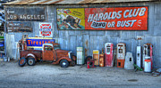 Small Town America Framed Prints - Rural America Framed Print by Bob Christopher