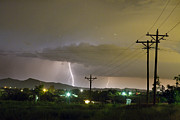 Lightning Photography Photos - Rural Lightning Striking by James Bo Insogna