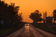 Illinois Art - Rural Road Trip by Steve Gadomski