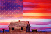 Patriot Art - Rural Rustic America by James Bo Insogna