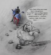 Rush Limbaugh After Obama  Print by Ylli Haruni