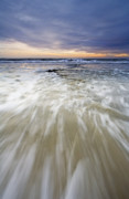 California Seascape Prints - Rush Print by Mike  Dawson