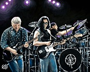 Rock Concert Prints - Rush Print by Tom Carlton