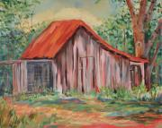 Old Barns Paintings - Russel Crow by Ginger Concepcion