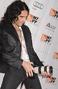 Kristin Callahan Framed Prints - Russell Brand At Arrivals For 48th New Framed Print by Everett