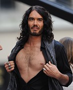Brand Prints - Russell Brand On Stage For Nbc Today Print by Everett