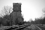 Train Tracks Photo Originals - Russell Grain by Jame Hayes