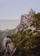 Photochrom Photos - Russia, Church In Baider, Crimea by Everett