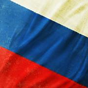 Russia Flag Print by Setsiri Silapasuwanchai