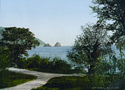 Photochrom Photos - Russia, Gursuff Aka Gurzuf, Crimea by Everett