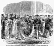 Patriarch Prints - Russia: Royal Wedding, 1866 Print by Granger