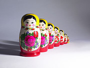 Nesting Photos - Russian Dolls by Tony Mcconnell
