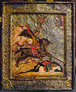 Russian Icon Photos - Russian Icon: Demetrius by Granger
