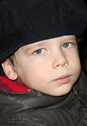 Kid Photo Originals - Russian Kid at Nativity Church by Munir Alawi