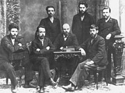 Dictator Photos - Russian Marxists, 1897 by Granger