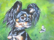 Dog Breeds R-s - Russian toy Terrier by Lee Ann Shepard
