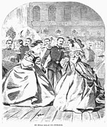 Ball Gown Prints - Russian Visit, 1863 Print by Granger